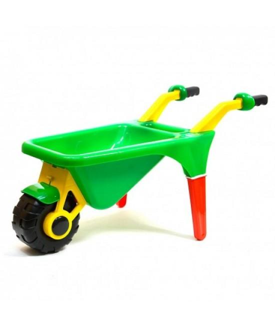 0044 Detský plastový fúrik Zelená
