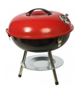 1016597 Piknikový gril UFO červený 36,5 cm x 38 cm