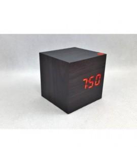 11380 LCD hodiny s dátumom a budíkom Čierna