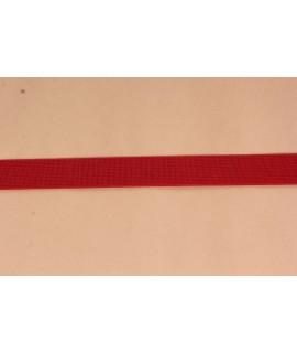 Guma prádlová (š. 2 cm) - červená