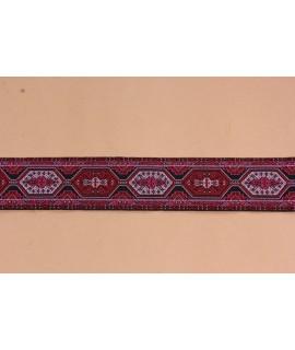Krojová stuha (š. 3 cm) - bordová