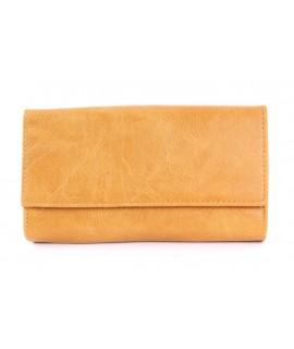 Čašnícka peňaženka - okrová (20x11 cm)