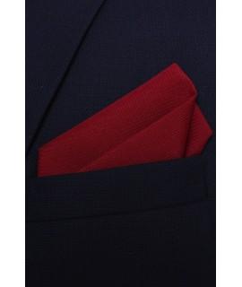 Pánska vreckovka do obleku - bordová 2. (28x28 cm)