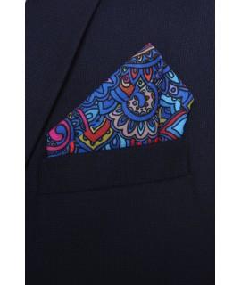 Pánska vreckovka do obleku vzorovaná VZOR 1. (28x28 cm)