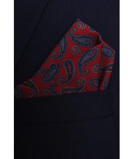 Pánska vreckovka do obleku vzorovaná VZOR 3. (28x28 cm)