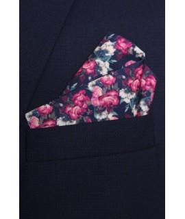 Pánska vreckovka do obleku vzorovaná VZOR 4. (28x28 cm)