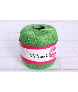 """Háčkovacia priadza """"MAXI"""" (6332) - zelená"""