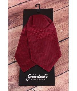 Pánska kravata ASCOT - bordová