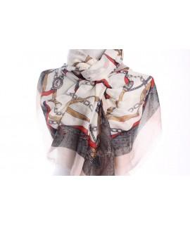 Dámsky šál (22104) - béžový (90x185 cm)
