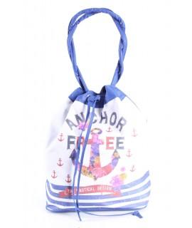 Plážová taška 19010 (52x43x22 cm) - modrá