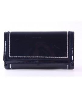 Dámska peňaženka (FLD5009) - tmavomodrá (19x10x3 cm)