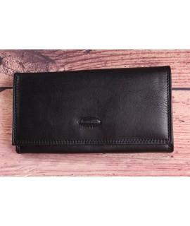 Čašnícka peňaženka BESTITALIA (D222V) - čierna (19x10,5 cm)