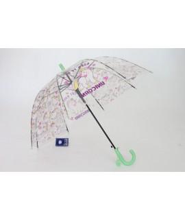 Detský vystreľovací dáždnik s píšťalkou FEELING RAING 191021 UNICORN - zelený (p. 95cm)