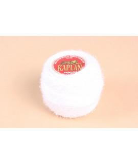 Priadza na háčkovanie a vyšívanie - KAPLAN biela (20g)