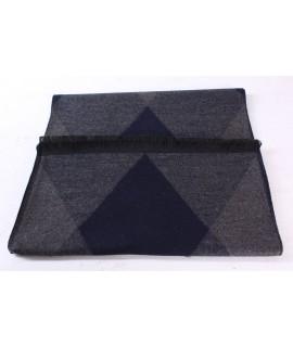 Pánsky šál (6066) - (31x180 cm) - sivo-modrý