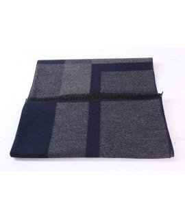 Pánsky šál (6060) - (32x187 cm) - sivo-modrý