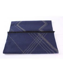 Pánsky šál (6077) - (30x185 cm) - sivo-modrý