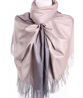 Dámsky šál (5903) - (73x192 cm) - béžovo-fialový