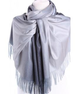 Dámsky šál (5903) - (73x192 cm) - sivo-modrý