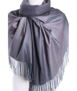 Dámsky šál (5903) - (73x192 cm) - hnedo-sivý