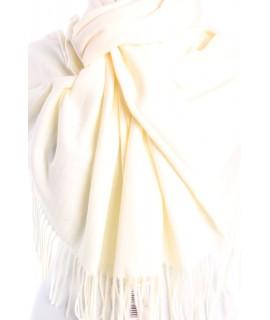 Dámsky šál (5678) - (71x180 cm) - krémový