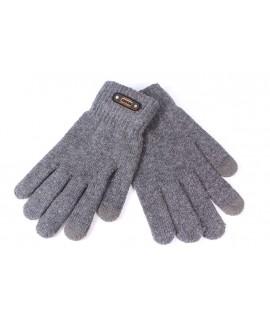 Pánske rukavice - sivé