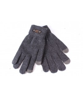 Pánske rukavice - tmavosivé