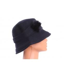 Dámsky klobúk (56-58 cm) - tmavomodrý