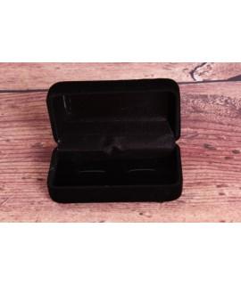 Krabica na manžetové gombíky - čierna