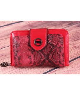 Dámska peňaženka (BY5060) - červená (14x9x4 cm)