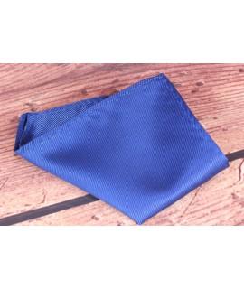Pánska vreckovka do obleku (15x15 cm) - kráľovská modrá