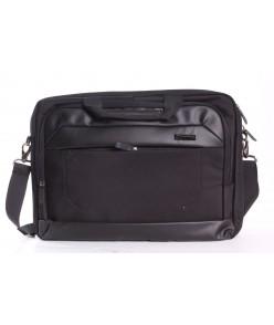 Pánska taška (SM64485-1) AOKING - čierna (40x30x7 cm)