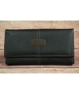 Čašnícka peňaženka LEO&SABRI Z18 (19x11 cm) - čierna