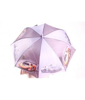 Detský dáždnik s píšťalkou (102F) - bledofialový (p. 87 cm)