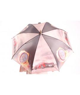 Detský dáždnik s píšťalkou (102F) - bledohnedý (p. 87 cm)