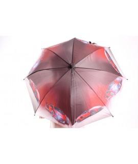 Detský dáždnik s píšťalkou (102F) - tmavosivý (p. 87 cm)