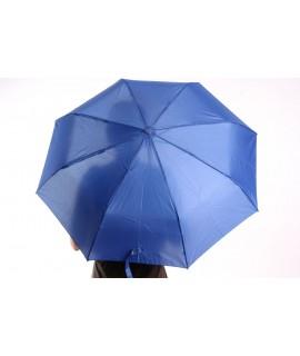Vystrelovací automatický skladací dáždnik (53002) - modrý (p. 97 cm)