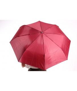 Vystrelovací automatický skladací dáždnik (53002) - bordový (p. 97 cm)