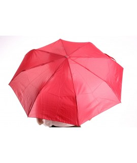 Vystrelovací automatický skladací dáždnik (53002) - červený (p. 97 cm)