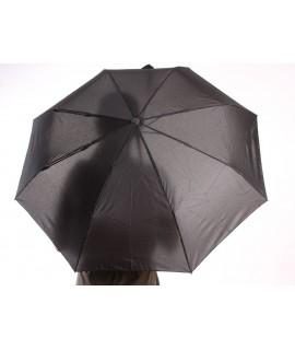 Vystrelovací automatický skladací dáždnik (53002) - čierny (p. 97 cm)