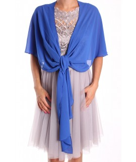 Dámska štóla na šaty (47x220 cm) - kráľovská modrá