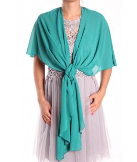 Dámska štóla na šaty (47x220 cm) - zelená