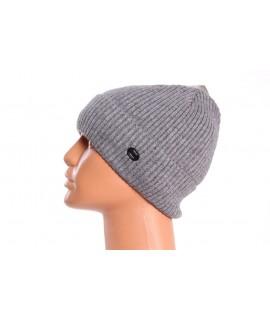 Pánska pletená čiapka FASHION - bledosivá