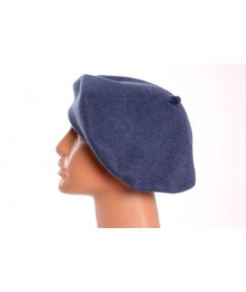 Dámska francúzska baretka - modrá (p. 28 cm)