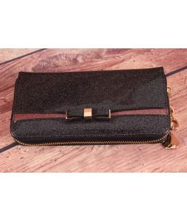 Dámska peňaženka ROMINA&CO (R150) - ružovo-čierna (19x10x2,5 cm)