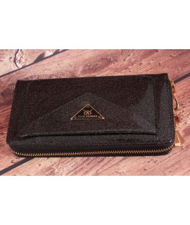 Dámska peňaženka ROMINA&CO (A228) - čierna (19,5x9,5x2,5 cm)
