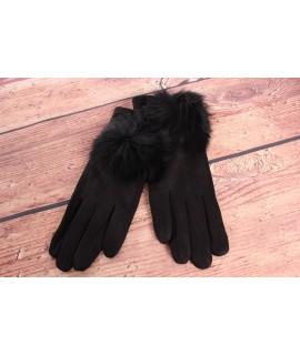 Dámske rukavice (7528) - čierne