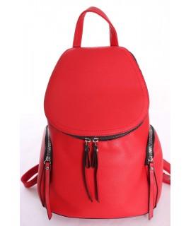 Dámsky batoh MARIA C - červený (33x25x15 cm)