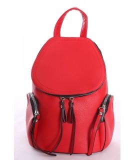 Dámsky batoh MARIA C - červený (26x18x12 cm)