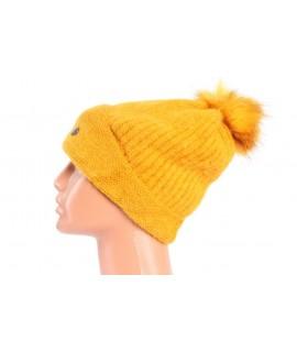 Dámska čiapka YonXing (9-273) - žltá